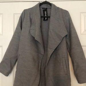 BNWT BooHoo Kate Belted Shawl Collar Coat